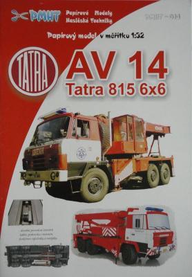 014             *                       AV 14 Tatra 815 6x6 (1:32)     *      PMHT