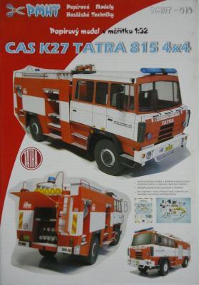 013    *     CAS K27 Tatra 815 4x4 (1:32)     *     PMHT