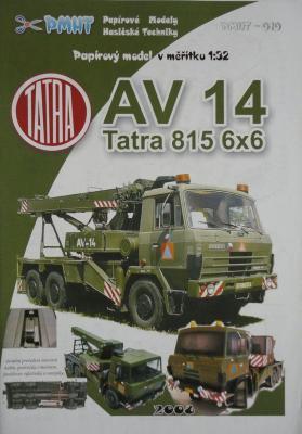 010   *    AV 14 Tatra 815 6x6 (1:32)     *    PMHT