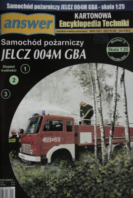 029       *       3\10      *          Samochod pozarniczy Jelcz 004M GBA (1:25)      *    Answ   KET