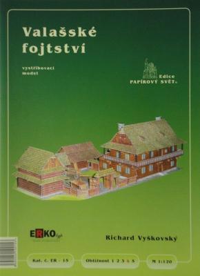 015     *        Valasske fojtstvi (1:120)      *     ERKO