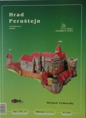 016     *        Hrad Pernstejn (1:220)      *    ERKO