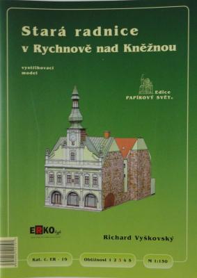 019     *       Stara radnice v Rychnove nad Kneznou (1:150)       *     ERKO