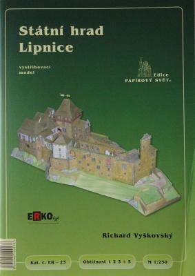 023      *       Statni hrad Lipnice (1:250)      *    ERKO