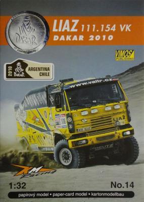 014      *      Liaz 111.154 VK Dakar 2010 (1:32)      *   VIMOS