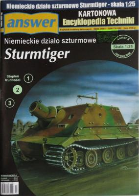 023     *       2\08      *       Sturmtiger (1:25)     *     Answer KET