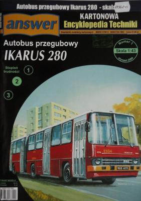 024       *         1\09    *     Autobus przegubowy Ikarus 280 (1:43)       *    Answer  KET