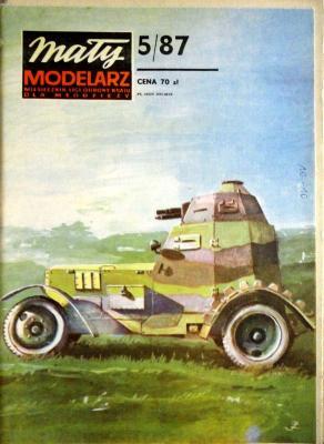 311     *     5/87     *      Samochod  pancerny  WZ-28,29,34  *  1;25     *     Mal-Mod