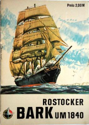 06   *   Rostocker Bark UM 1840      *      Kranih