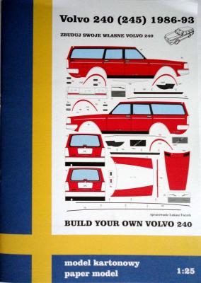 Volvo 240 (245) 1986-93   1:25     *      NIKE