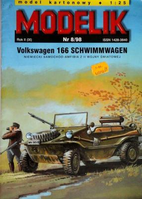 MOD-021  *    8\98  *   Volkswagen 166 Schwimmwagen (1:25)