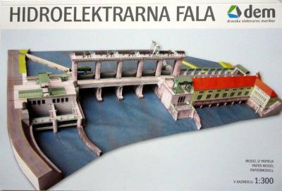 031   *   Hidroelektrarna Fala (1:300)     *    BETEXA