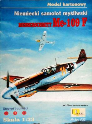 005     *    Messerschmitt Me-109F (1:33)      *    QUEST
