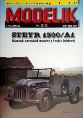 MOD-329     *     17\12      *     Steyr 1500/A1 (1:25)