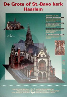 De Grote of St.-Bavo kerk Haarlem  (1:300)     *    LEONY