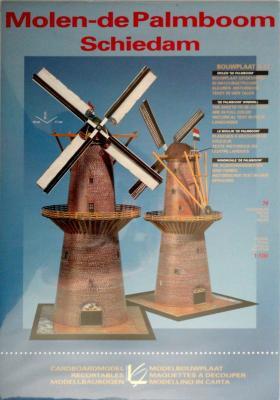 Molen-de Palmboom Schiedam (1:100)     *    LEONY