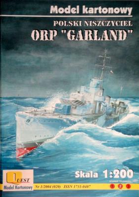 "020    *    1\04    *    ORP ""Garland"" (1:200)    *    QUEST"