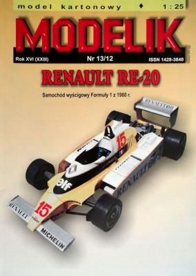 MOD-325    *     13\12    *    Renault RE-20 (1:25)