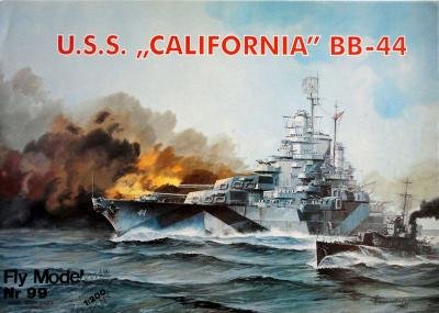 "FLy-099      *     USS ""California"" BB-44 (1:200)"