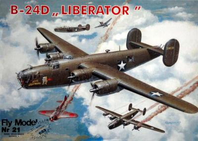 "FLy-021    *     B-24D ""Liberator"" (1:33)"