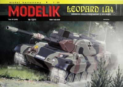 MOD-287     *     12\11      *      Leopard 1A4 (1:25)
