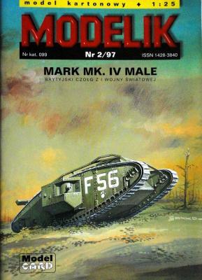 Mod-002     *    2\97      *    Mark MK.IV Male (1:25)