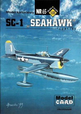 "65     *    SC-1 ""Seahawk"" (1:33)    *     Mod Card"