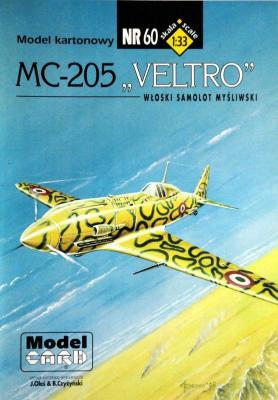 "60     *    MC-205 ""Veltro"" (1:33)      *    Mod Card"