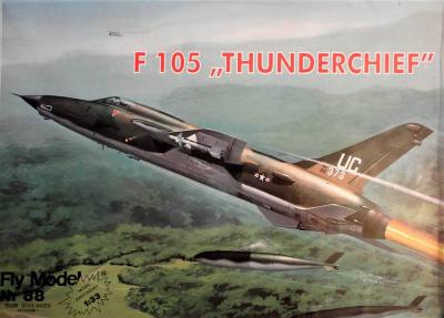 "FLy-088     *    F105 ""Thunderchief"" (1:33)"