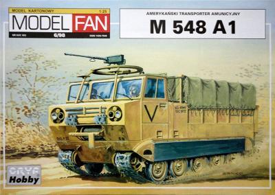 06   *   6\98   *   Amerykanski transporter amunicyjny M548 A1 (1:25)    *    Mod Fan