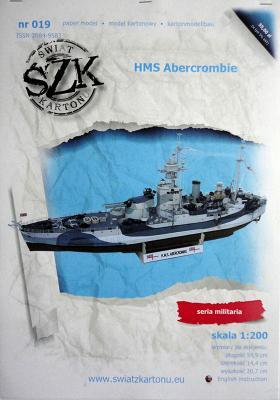 019    *   HMS Abercrombie (1:200)    *   SzK