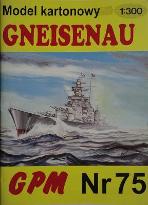 075   *   Gneisenau (1:300)   *   GPM-J