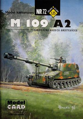 72    *   M109 A2 (1:25)    *   Mod Card