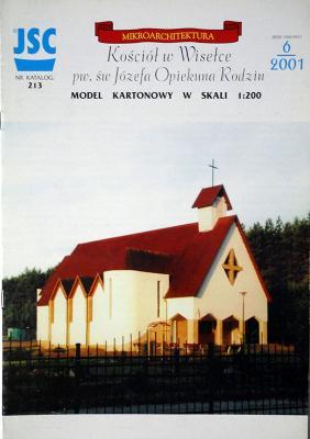 213    *   Kosciol w Wiselce pw. sw Jozefa Opiekuna Rodzin (1:200)   *   JSC