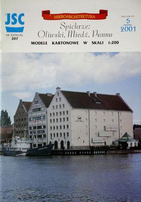 207    *    Spichrze: Oliwski, Miedz, Panna (1:200)    *   JSC