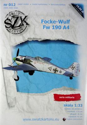 012    *   Focke-Wulf Fw 190 A4 (1:33)    *   SzK