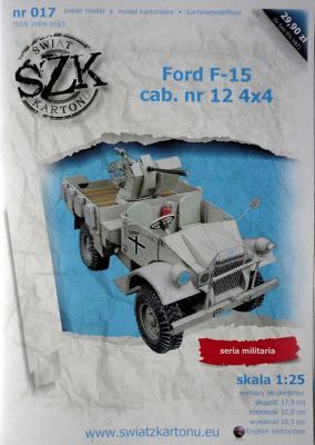 017     *    Ford F-15 cab.nr 12 4x4 (1:25)    *   SzK