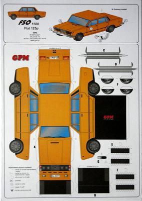 FSO 1500 Fiat 125p 1:32   *    GPM