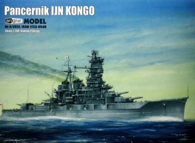 030   *   4\12    *    Pancernik IJN Kongo (1:200)    *   ANGR