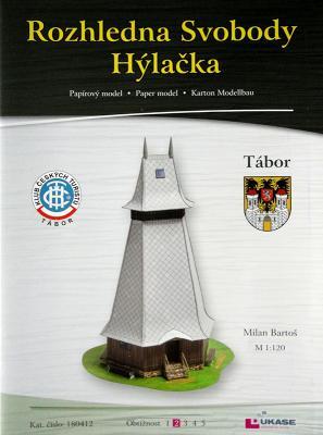 041    *   Rozhledna Svobody Hylacka (1:120)    *    DUKASE