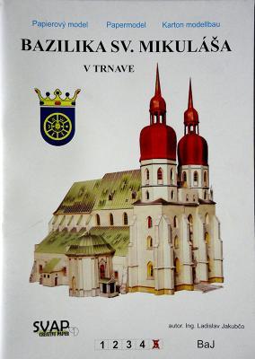 003   *   Bazilika sv.Mikulasa v Trnave 1:200    *   SVAP