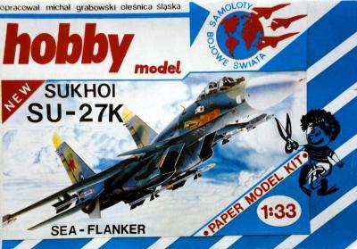 Hob\M-008   *  Sukhoi SU-27K (1:33)