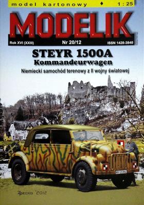 MOD-332    *   20\12   *   Steyr 1500A Kommandeurwagen (1:25)