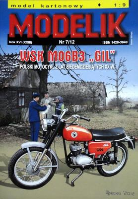 "MOD-319   *   7\12    *   WSK  MO6  B3 ""GIL"" 1:9"