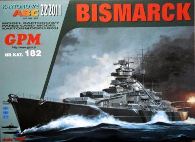 GP-296   *  22\11\182   *   Bismarck (1:200)