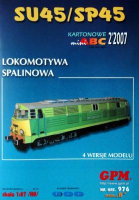 976   *   2\07   *   Lokomotywa Spalinowa SU45/SP45 (1:87)   *   GPM-ABC  HO