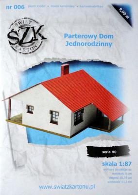 006   *   Parterowy Dom Jednorodzinny (1:87)   *   SzK