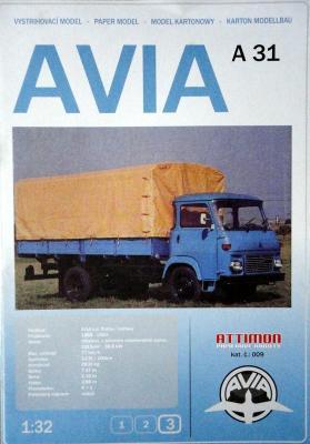 009   *   Avia A31 (1:32)   *  ATTIMON