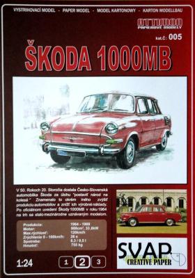 005   *  Skoda 1000MB (1:24)   *  ATTIMON