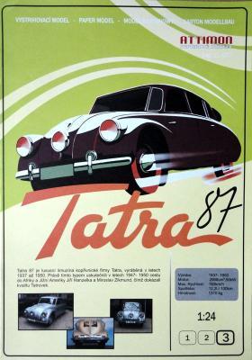007   *  Tatra 87 (1:24)   *   ATTIMON